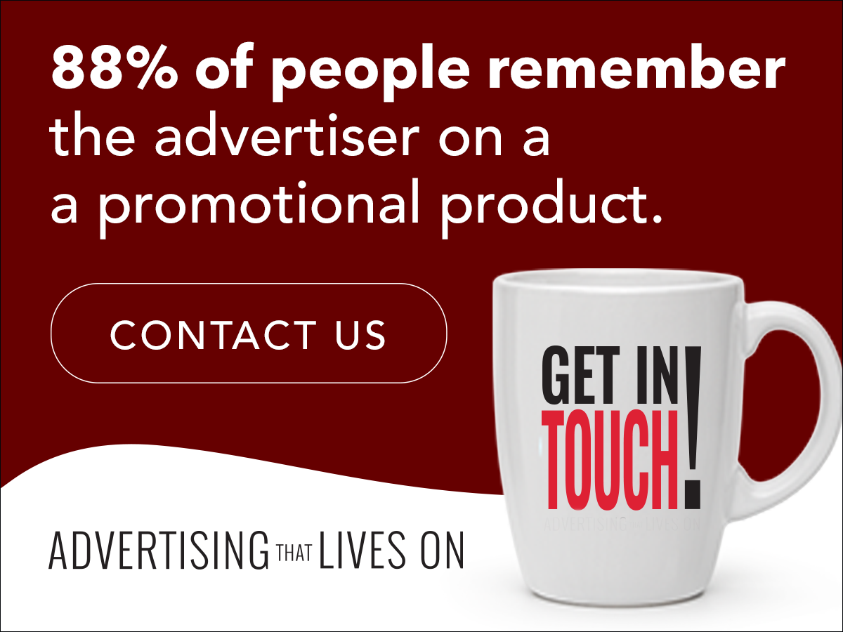 88% of people remember advertisers on promotional products