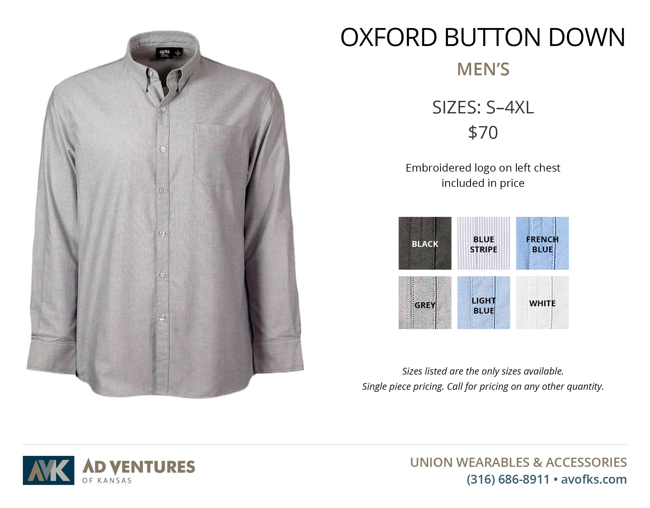 mens oxford button down