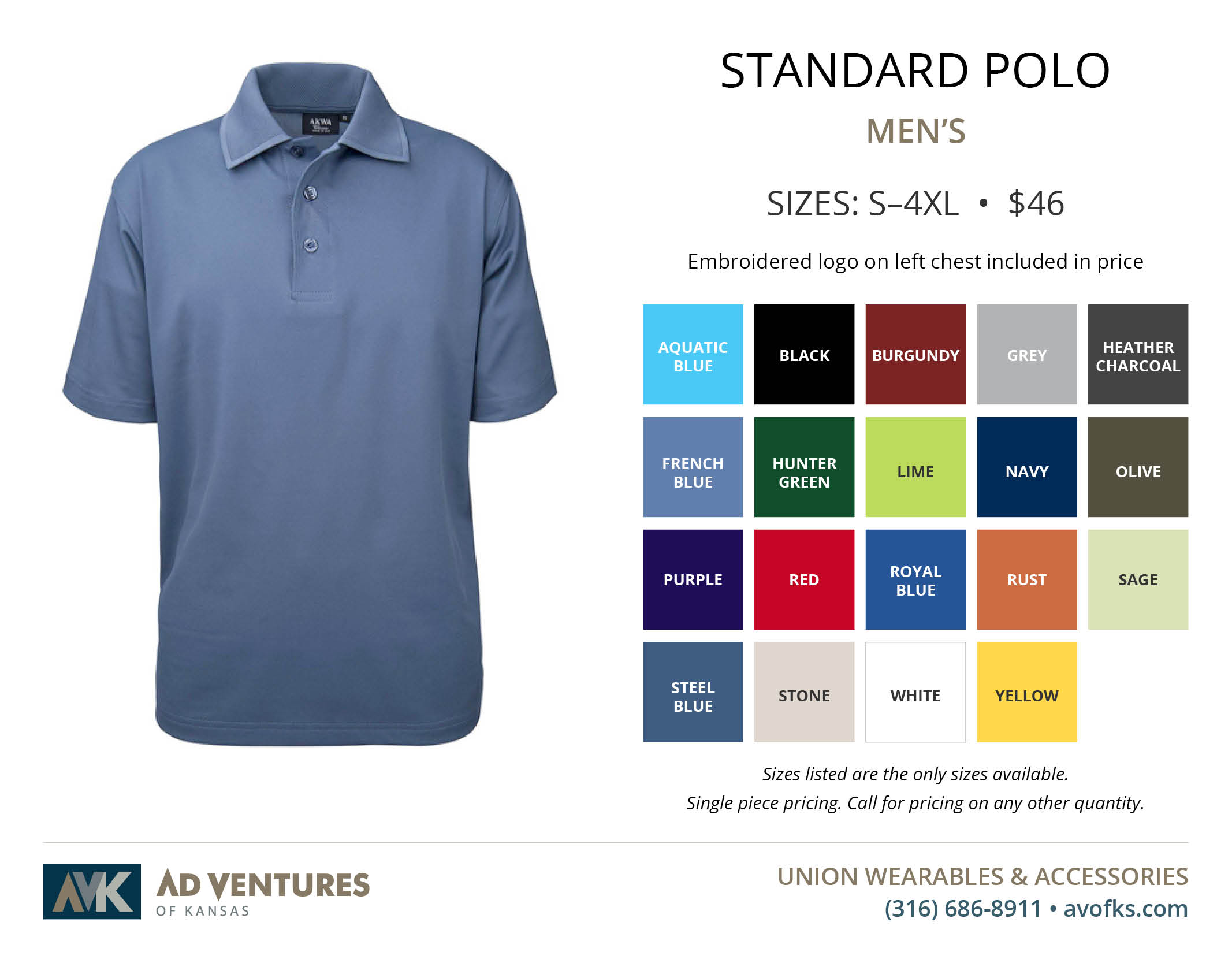 mens standard polo